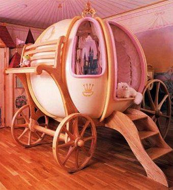 Una cama para auténticas princesitas  decoracion-dormitorios Blog Decoracion