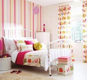 Telas y papeles estampados. Una combinación ideal para habitaciones infantiles sin-categoria Blog Decoracion