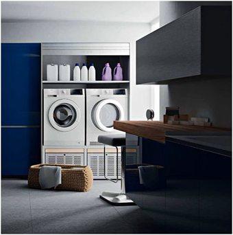 Cómo decorar un espacio de lavado y planchado