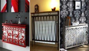 Convertir un antiestético radiador en una obra de arte sin-categoria Blog Decoracion