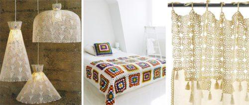Crochet, una tendencia que invade los textiles del hogar complementos-decoracion-2 Blog Decoracion