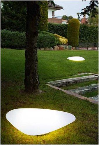 Piedras para iluminar el jardín decoracion-jardines Blog Decoracion