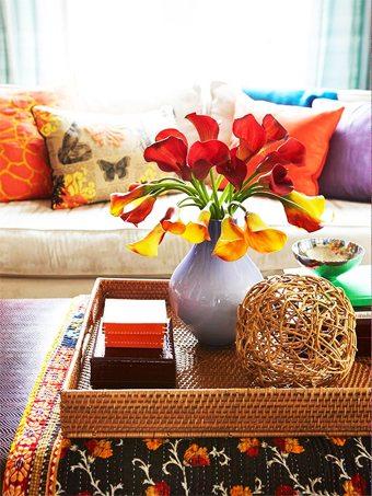 Crear un foco de atracción visual en la mesa de centro decoracion-jardines Blog Decoracion