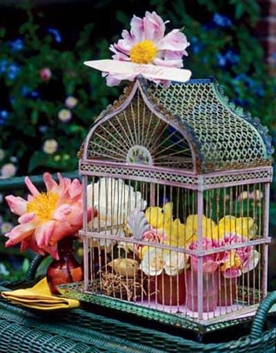 De jaulas y flores  Blog Decoracion