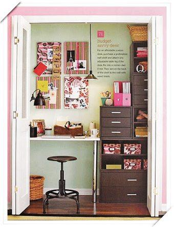 Con la oficina en el armario como-decoracorar-un-despacho Blog Decoracion