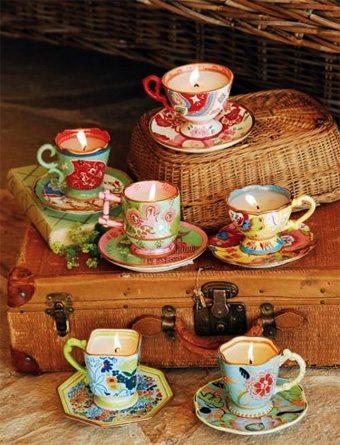 Velas en tazas sin-categoria, curiosidades-decoracion Blog Decoracion