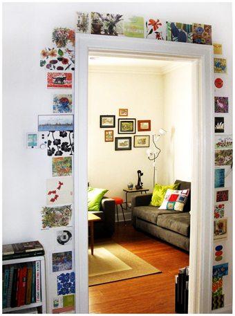 Azulejos-para-alegrar-el-marco-de-una-puerta-look4deco-  Blog Decoracion