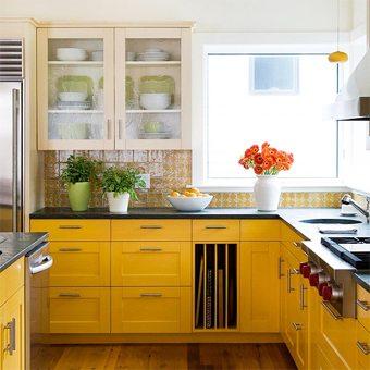 Fuera supersticiones, ¡apuesta por el amarillo! decoracion-cocinas Blog Decoracion