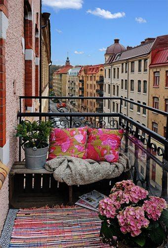 Una terraza encantadora con muy pocos elementos muebles-decoracion Blog Decoracion