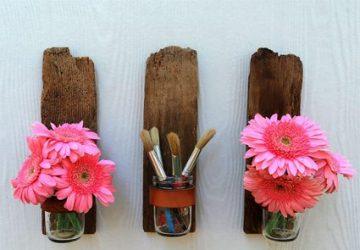 Reciclando botes de cristal y maderas decoracion-jardines, decoracion-cocinas Blog Decoracion