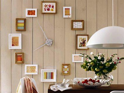 Un reloj a cuadros decoracion-paredes Blog Decoracion