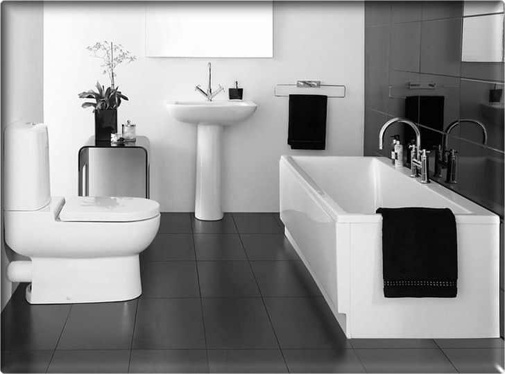 Baño en blanco y negro para un toque sofisticado complementos-decoracion-2 Blog Decoracion