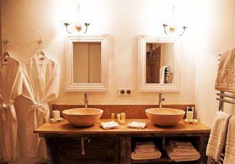 baños con dos lavabos