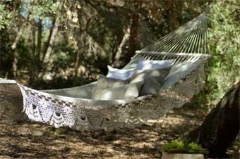 Hamacas colgantes: Cómo dar un toque romántico ideas-para-decorar, decoracion-jardines Blog Decoracion
