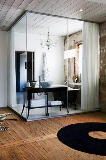 El baño entre cristales. Una idea genial para una casa pequeña decoracion-iluminacion, ideas-para-decorar, decorar-banos, complementos-decoracion-2 Blog Decoracion
