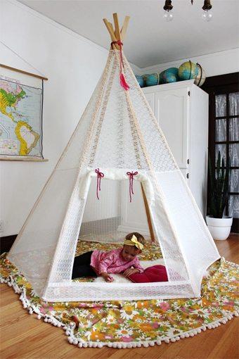 Hazlo tú mismo/a: Una cabaña para la habitación de los peques ideas-para-decorar, decoracion-dormitorios, complementos-decoracion-2 Blog Decoracion