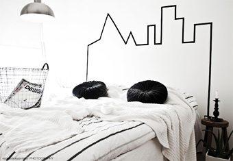 Una cabecera low-cost ideas-para-decorar, decoracion-paredes, complementos-decoracion-2 Blog Decoracion