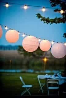 decorar una fiesta en el jardín