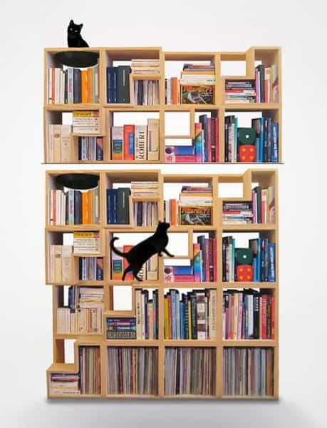 cat library Objetos de deseo para mascotas