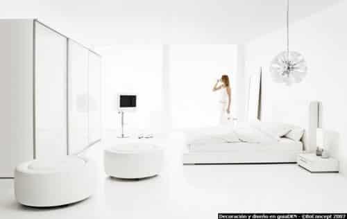 habitación blanca  Blog Decoracion