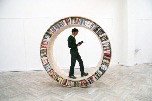 librería circular