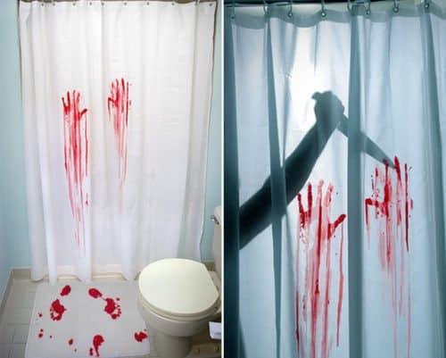baño sangriento Halloween