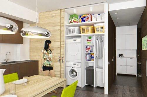 Consejos para crear una zona de lavado y plancha ideas-para-decorar, decorar-banos Blog Decoracion