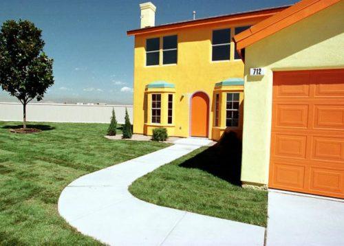 La casa de los simpsons en la vida real existe blog for Blog decoracion casas
