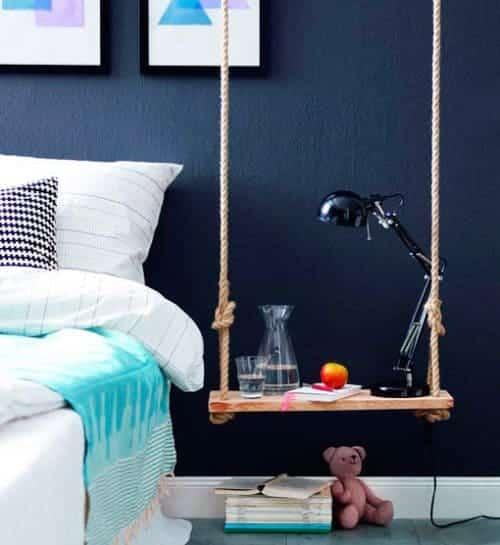 Un columpio de mesa de noche ideas-para-decorar, decoracion-dormitorios Blog Decoracion