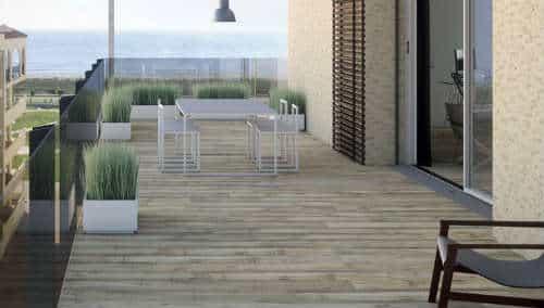 suelo imitación madera exterior