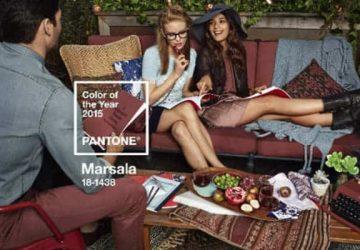 Marsala elegido por Pantone color de 2015 ideas-para-decorar Blog Decoracion