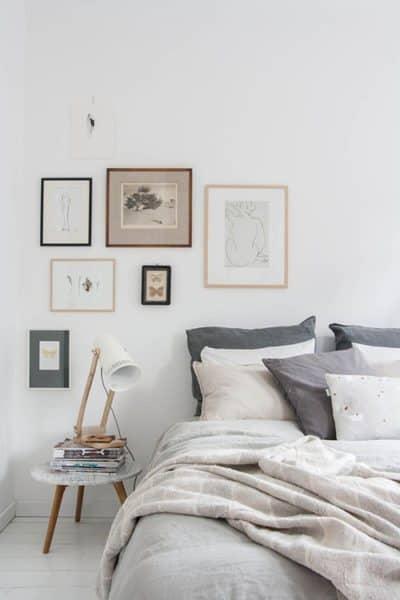 habitación gris