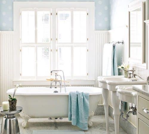 decoración de un baño