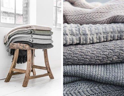 textiles gris