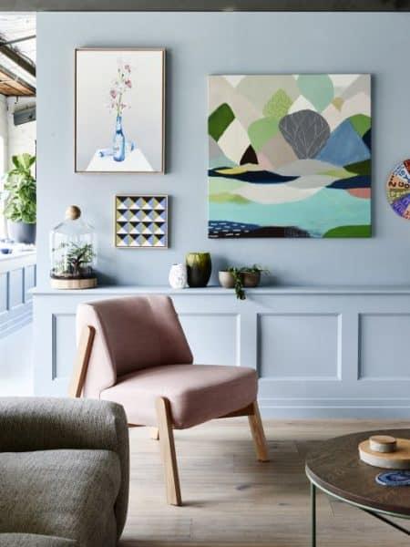 Soft Colors para las paredes decoracion-paredes Blog Decoracion