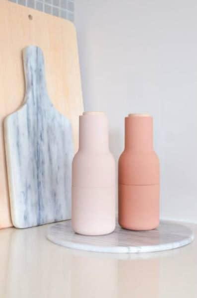objetos de mármol