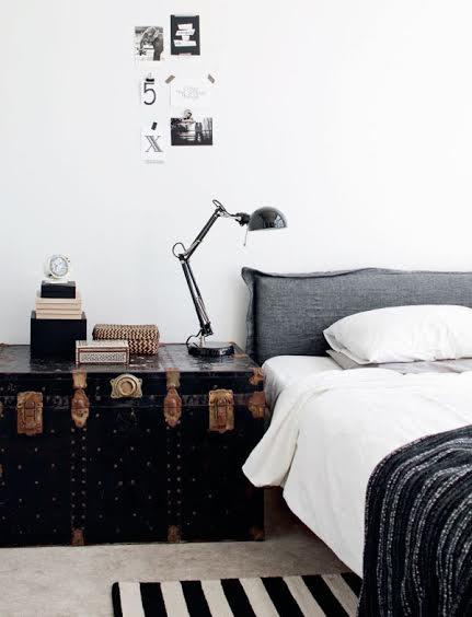 baúl mesa de noche