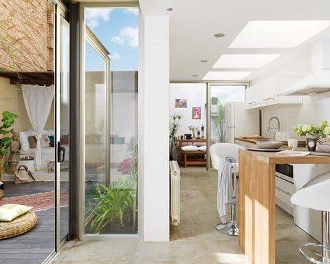 Un loft elegante con tendencia ecológica y aires neo hippies casas Blog Decoracion