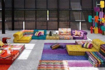 sofá modular colores