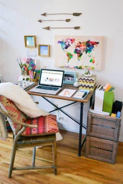 Ideas que te ayudarán a crear un buen espacio de trabajo ideas-para-decorar, como-decoracorar-un-despacho Blog Decoracion