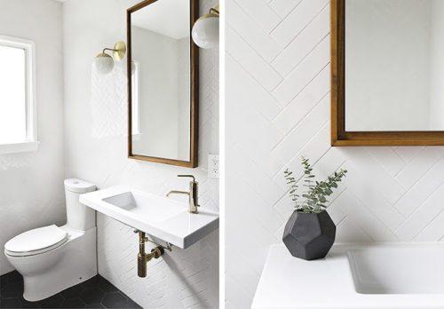 Un baño clásico renovado en blanco y negro decorar-banos Blog Decoracion