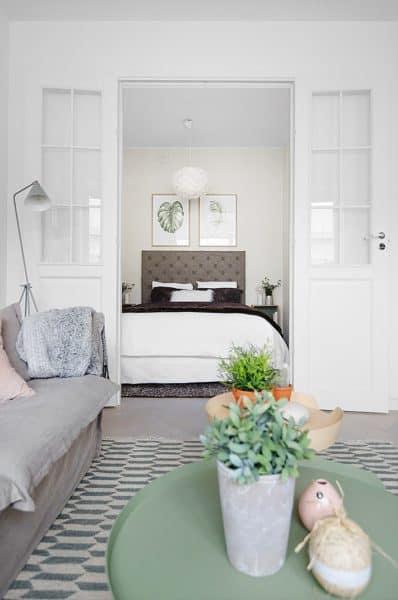 Estilo y comodidad en 38 metros cuadrados casas Blog Decoracion
