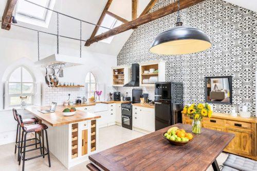 Una capilla convertida en una casa de lujo casas Blog Decoracion