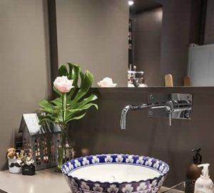 flores baño