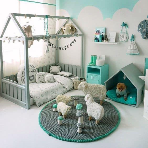 habitacion-infantil-verde
