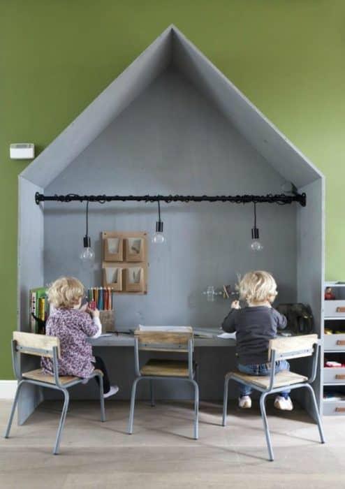 Habitaciones infantiles decoradas con pequeñas casas ideas-para-decorar, decoracion-dormitorios Blog Decoracion