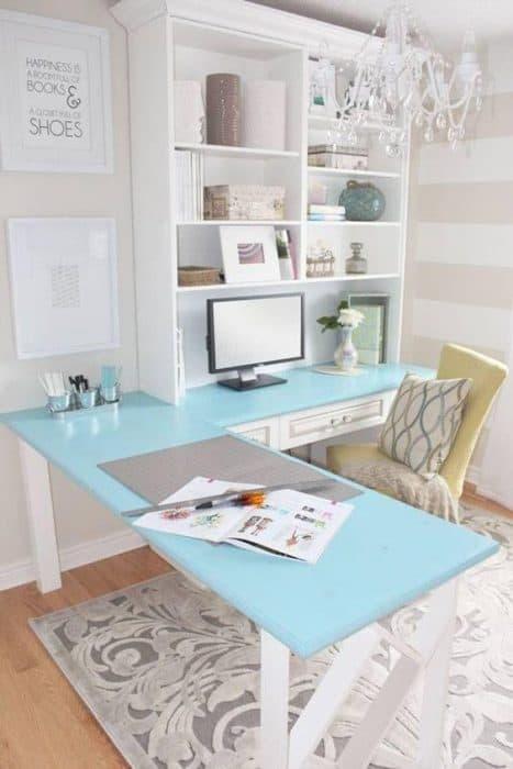 espacio de trabajo acogedor