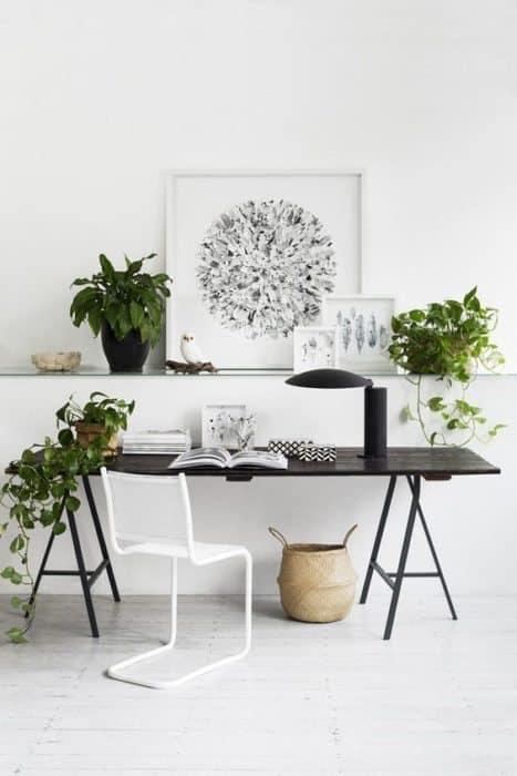 Cómo organizar tu escritorio y ser más produtivo como-decoracorar-un-despacho Blog Decoracion