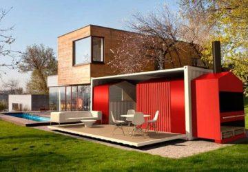 Cómo fabricar y decorar casas contenedores