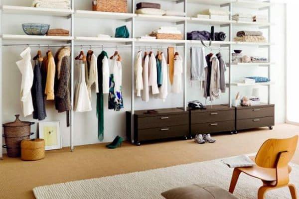 Cómo organizar un vestidor con ideas